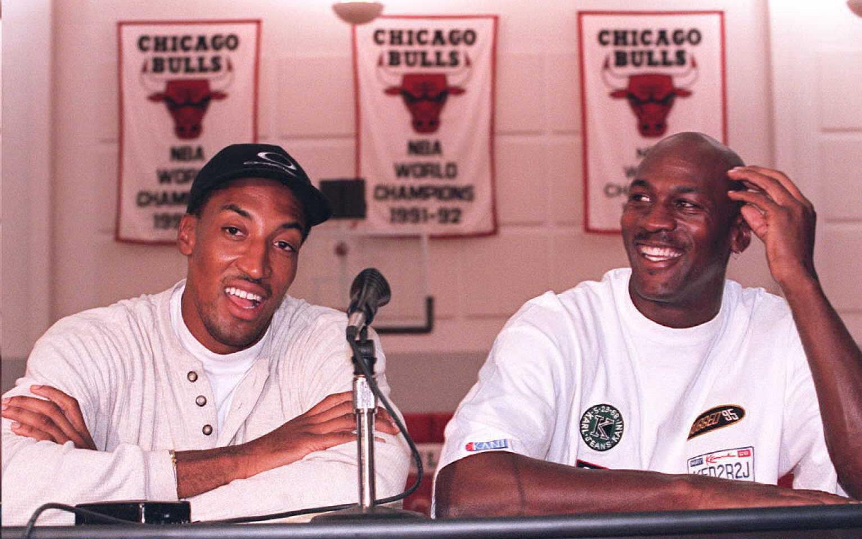 """Scottie Pippen Says There Was No """"Beef"""" Between Him & Michael Jordan"""