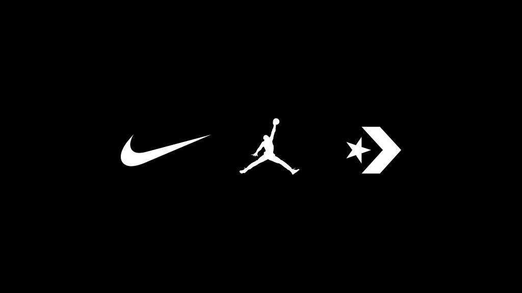 Jordan, Nike, Converse Logo