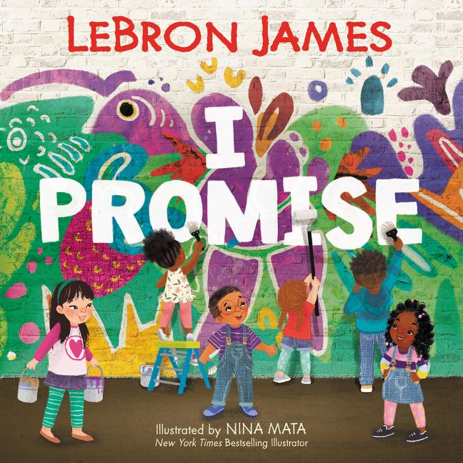 LeBron James I Promise Book Cover