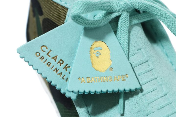 BAPE x Clarks