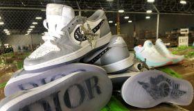 Fake Sneakers Seized Texas