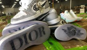 Fake Sneakers Seized Texas