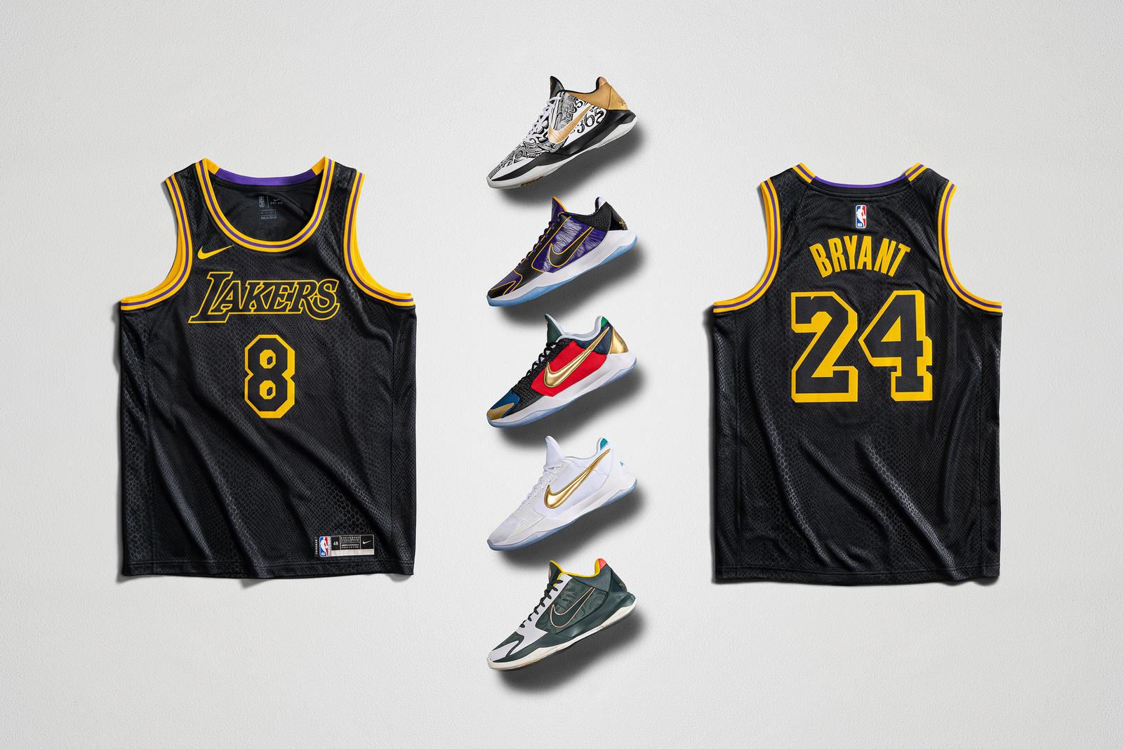 Nike's Celebrating Mamba Week With Limited Edition Kobe Jerseys ...