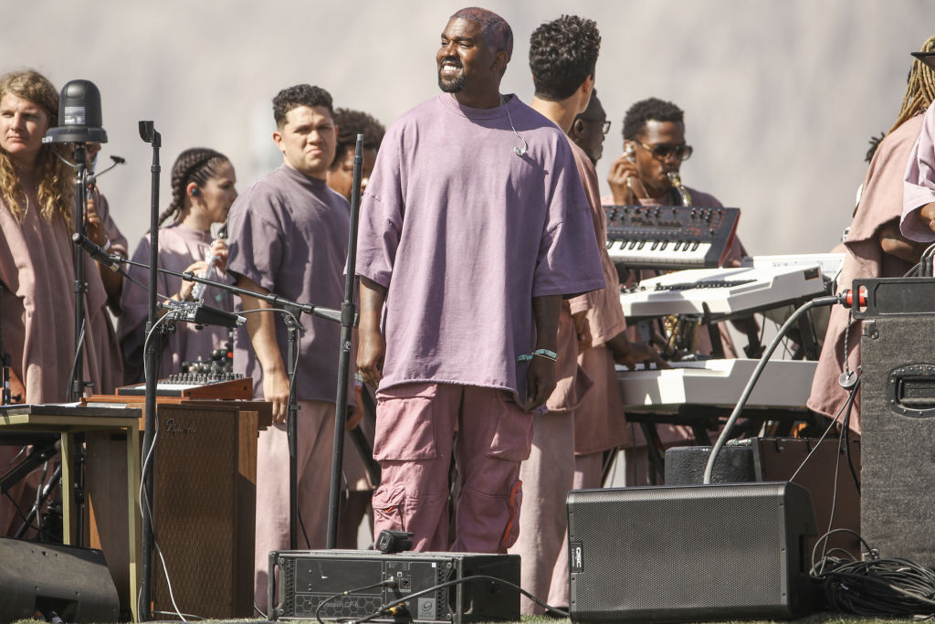 Kanye West Revives Sunday Service At Wyoming Ranch