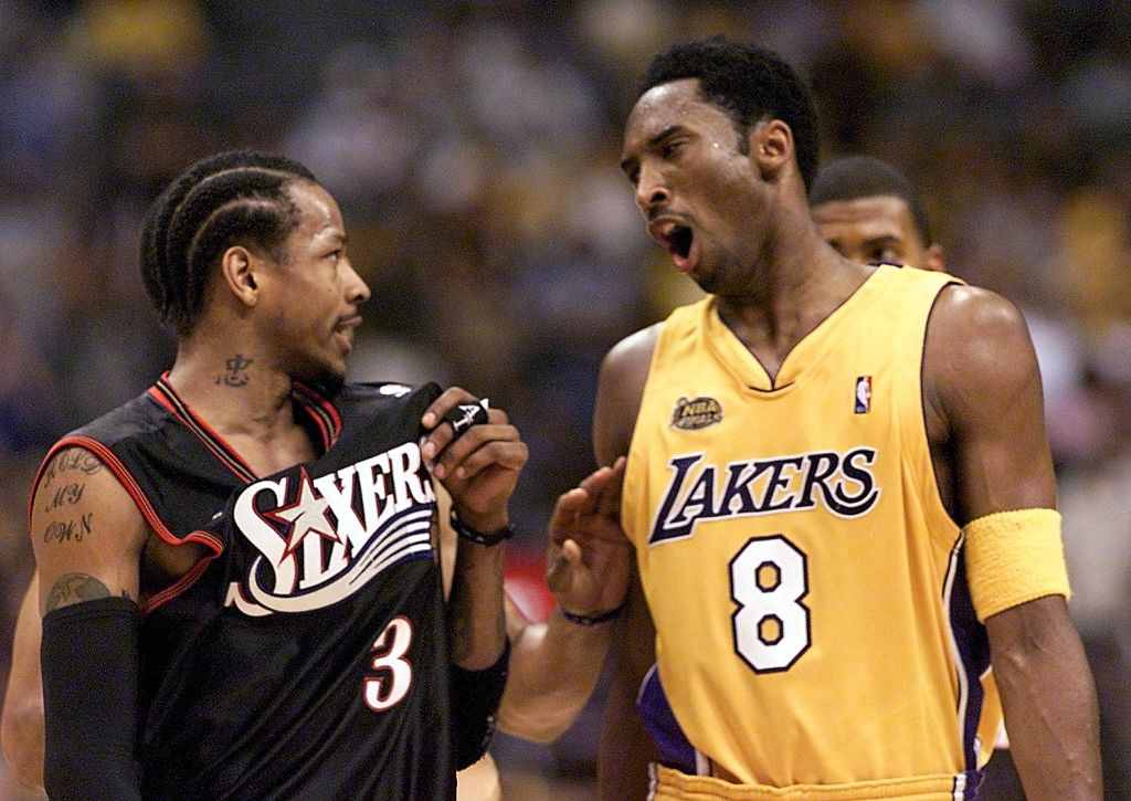 BKN-FINALS-76ERS-LAKERS-IVERSON-BRYANT-YELL