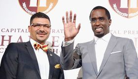 "Sean ""Diddy"" Combs Charter School Opening"