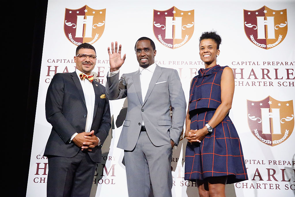 """Sean """"Diddy"""" Combs Charter School Opening"""