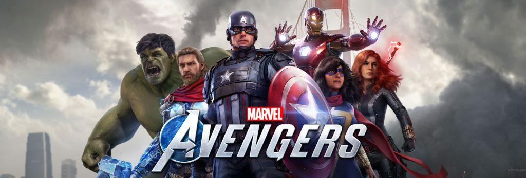 Marvel Avengers Team Pic