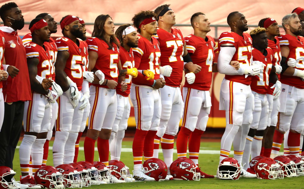 Kansas City Chiefs Fans Boo Moment of Silence Calling For Unity