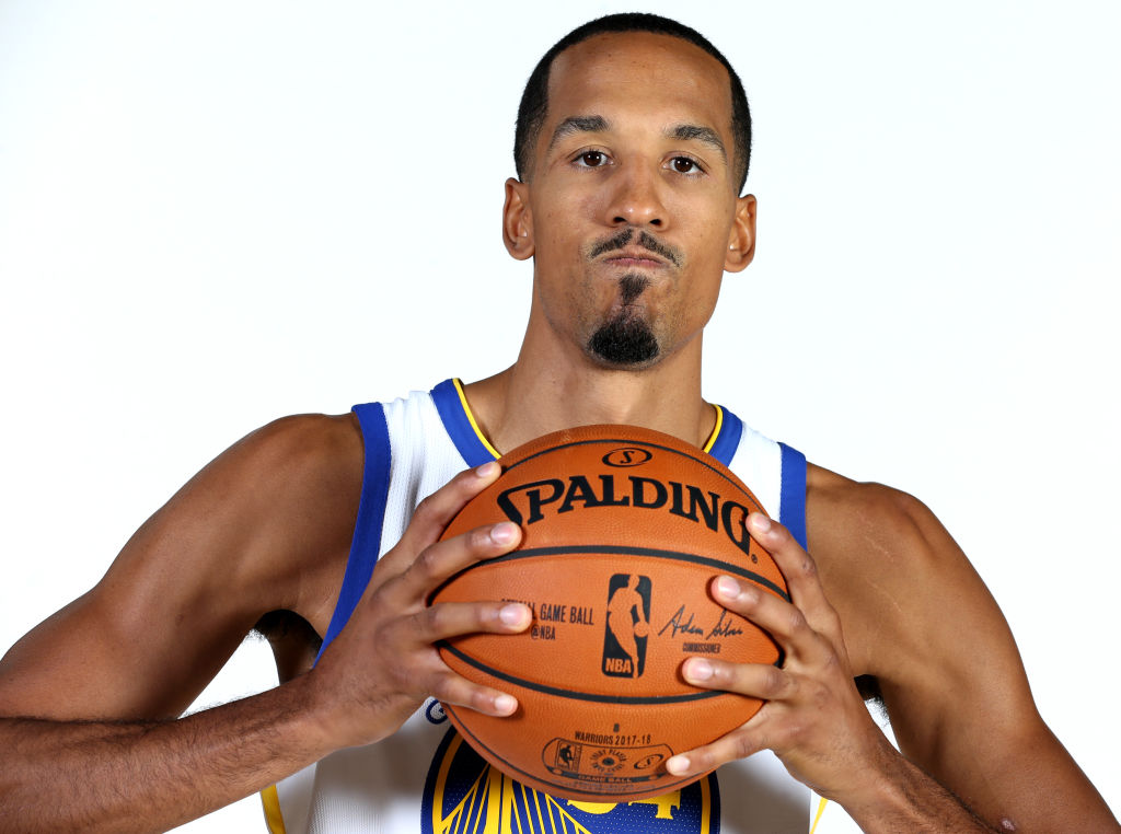 Golden State Warriors' Shaun Livingston poses for a photograph during the team's media day at their practice facility in Oakland, Calif., on Friday, Sept. 22, 2107. (Anda Chu/Bay Area News Group)