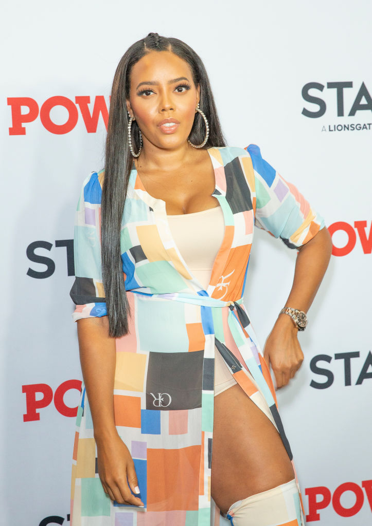 Angela Simmons attends STARZ Power Season 6 premiere at...
