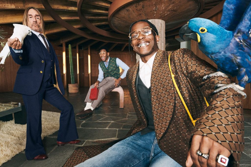 Gucci's men's tailoring campaign By Harmony Korine