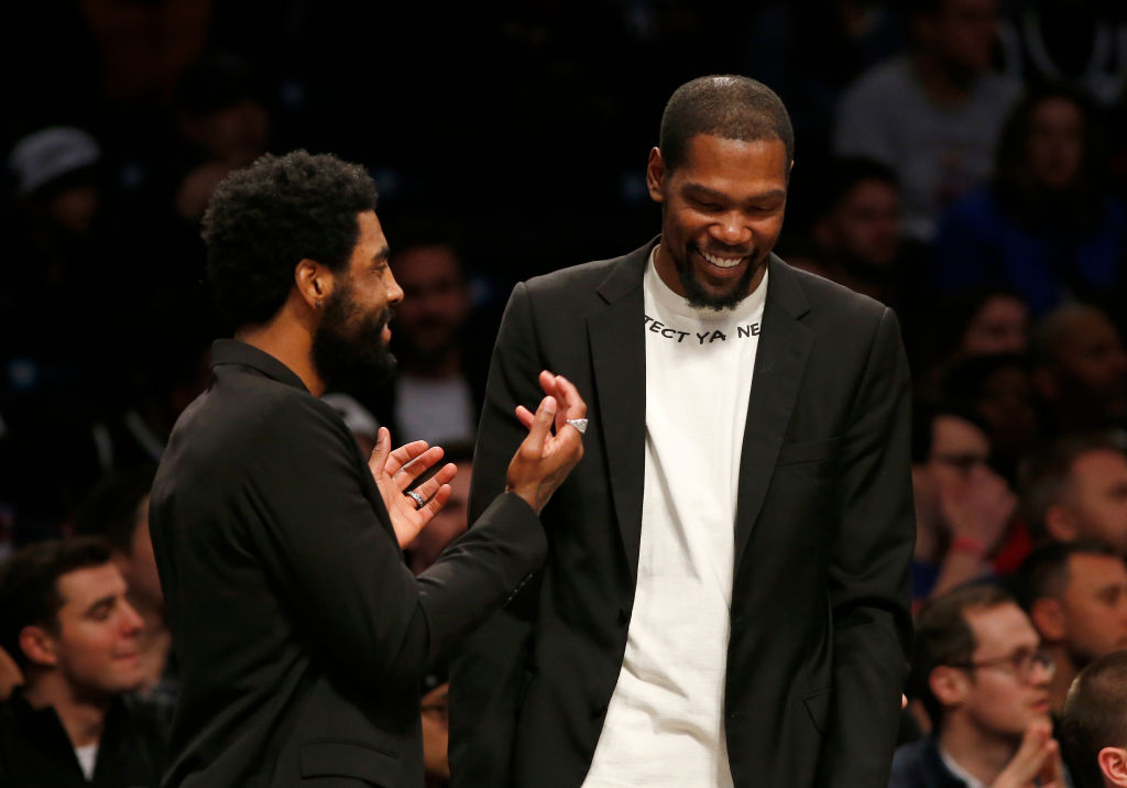 Kevin Durant Says He & Kyrie Irving Decided To Team Up At All-Star Game