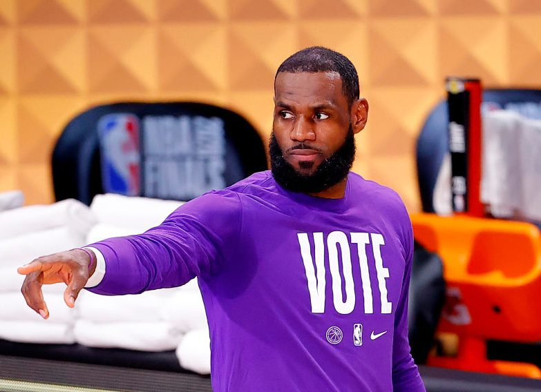 LeBron James Led More Than A Vote Recruits Over 10,000 Poll Workers