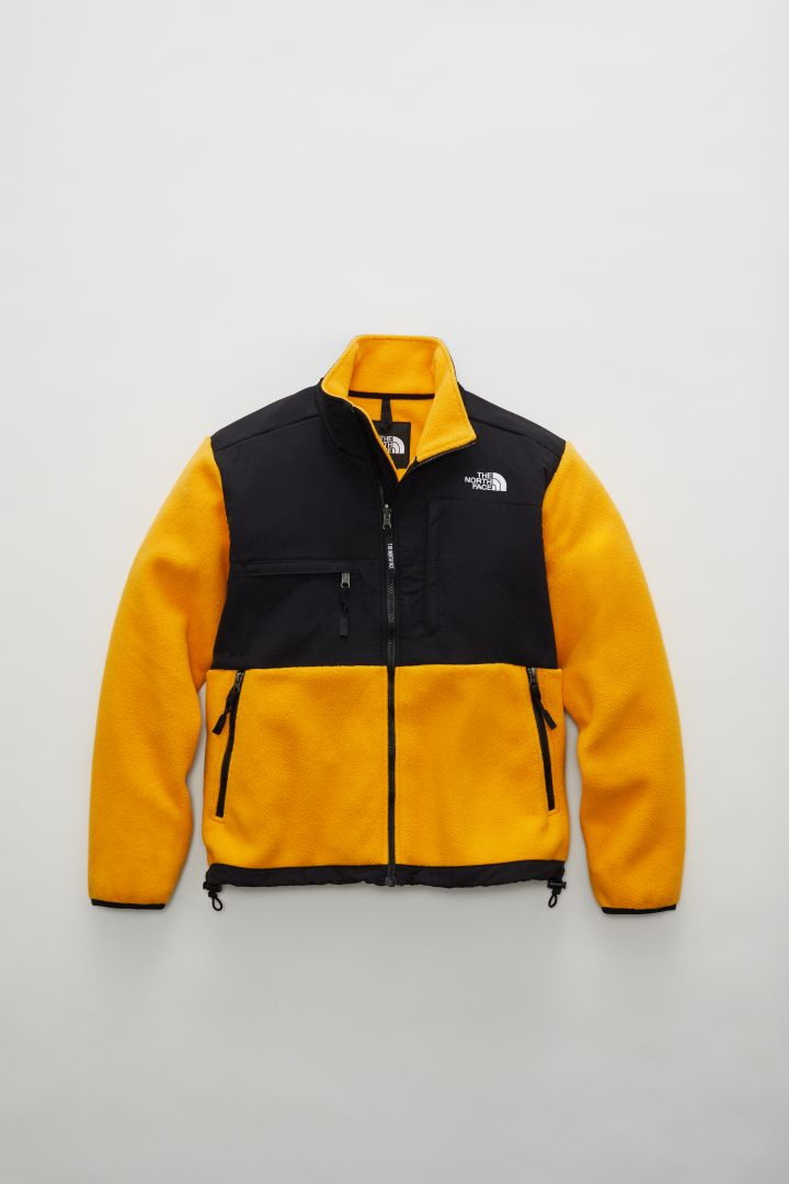 The North Face F20 Him Parka & Yellow Icons