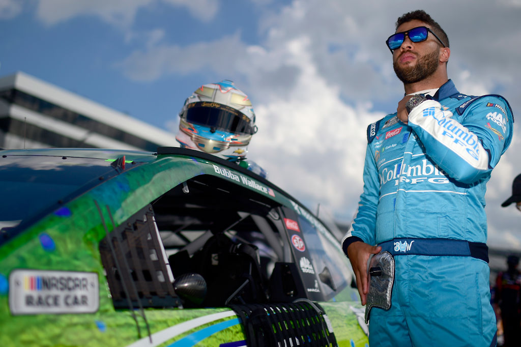 Bubba Wallace Will Drive The New No.23 Car For Michael Jordan's 23XI Team