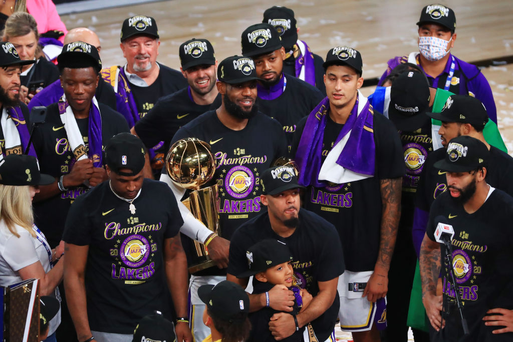 Pat Riley Says The Los Angeles Lakers 2020 Championship Has An Asterisk