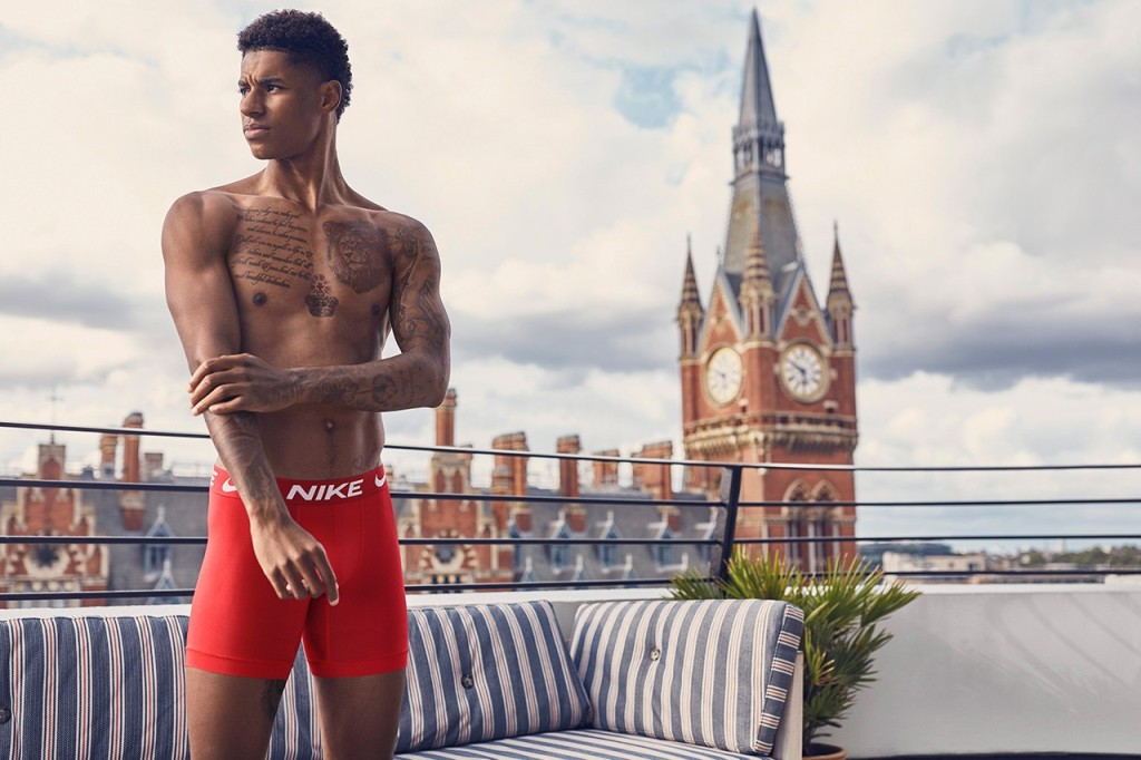 Marcus Rashford For Nike Underwear