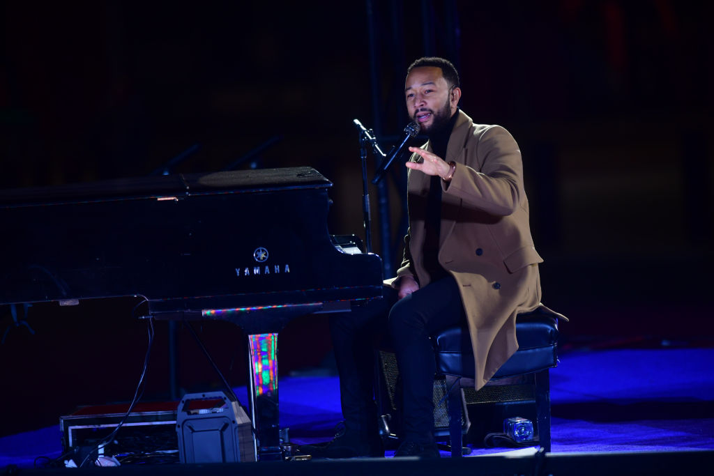John Legend Calls Out Trump Supporting Rappers At Philly Joe Biden Rally