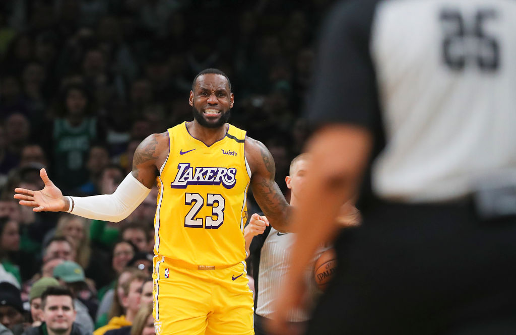 Los Angeles Lakers Vs. Boston Celtics at TD Garden