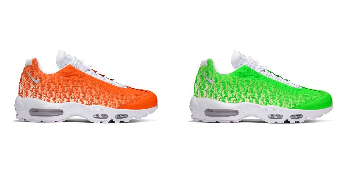 Nike & Dior Reportedly Linking Up Again For A New Air Max 95 ...