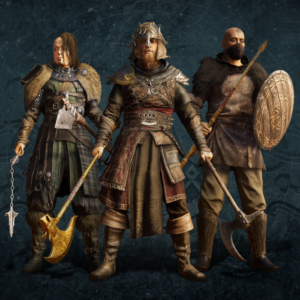 assassin's creed valhalla characters