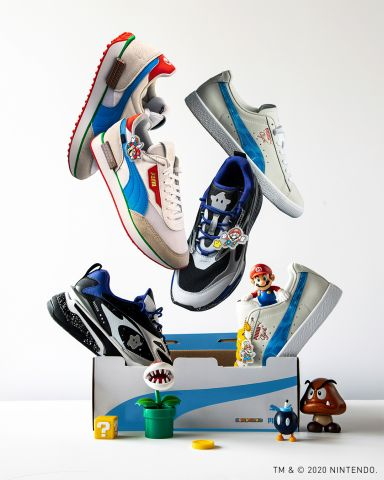 PUMA X Super Mario 3D All-Stars Collection