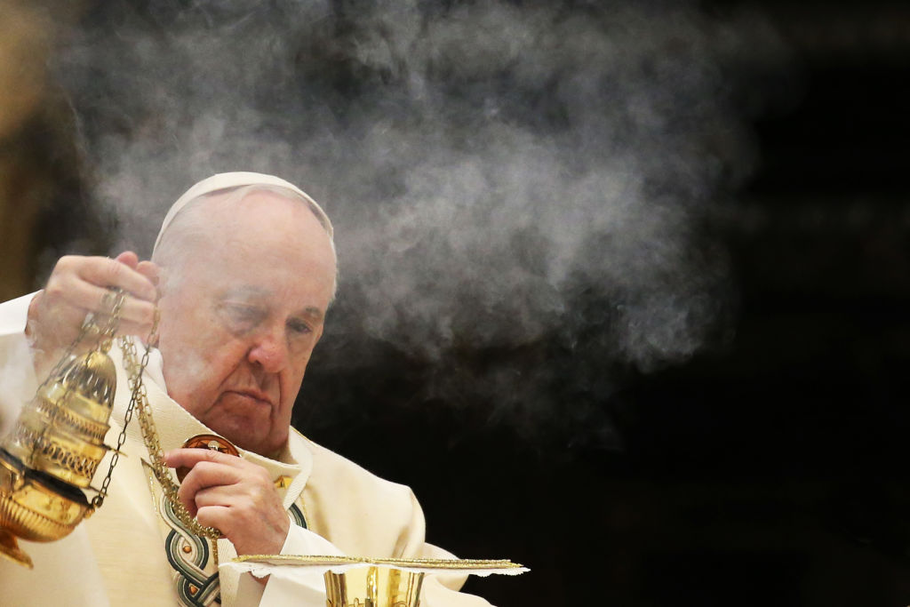 Pope Francis Holds The Holy Mass On The World Youth Day