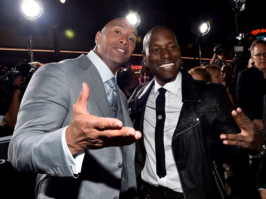 Tyrese Reveals His Beef With Dwayne 'The Rock' Johnson Has Been Squashed