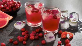 Cranberry Grapefruit Cocktails