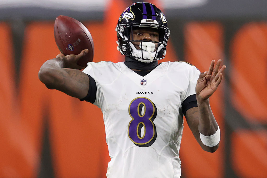 "Lamar Jackson Says He Didn't Have A ""Paul Pierce"" Moment"