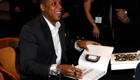 "Jay-Z ""Decoded"" Book Release and Conversation with Cornel West and Paul Holdengraber"