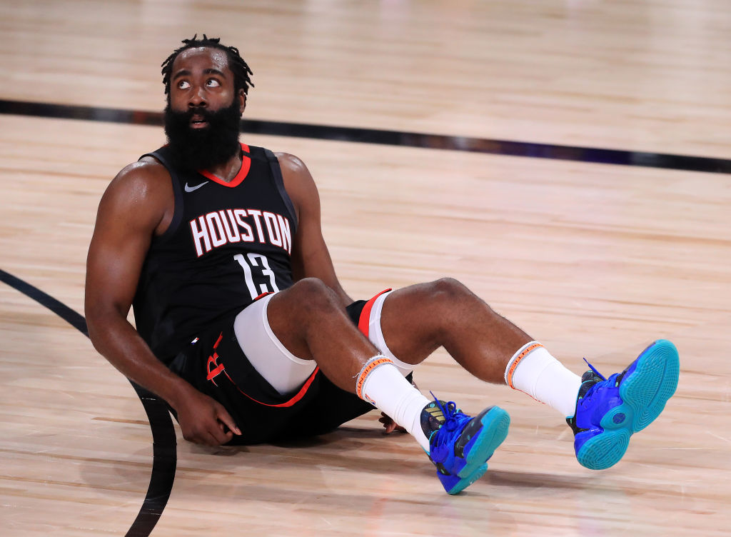 """James Harden Trolled For His """"Heavier"""" Look During 2020-21 Season Debut"""