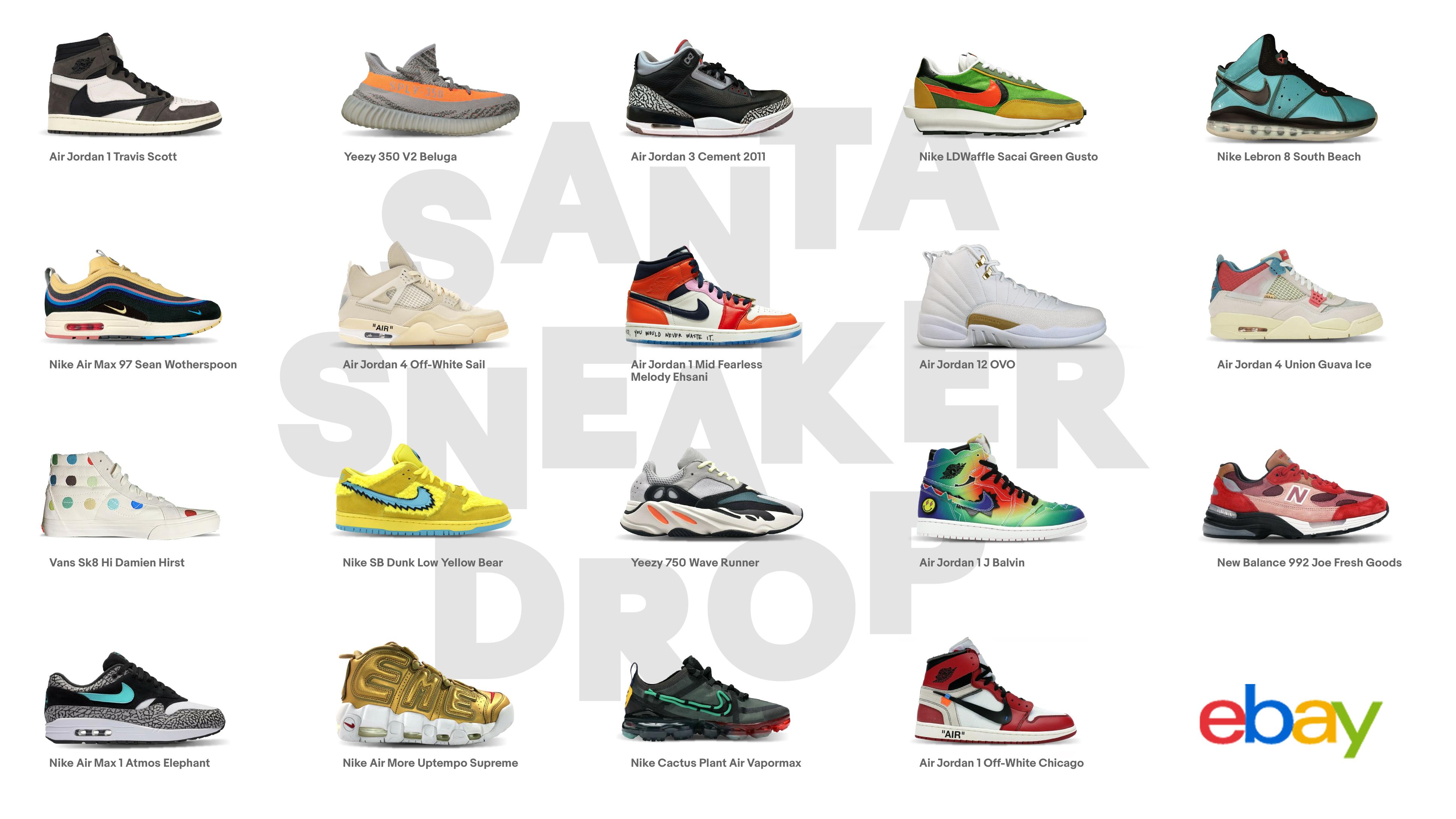"eBay ""Santa Sneaker Drop"""