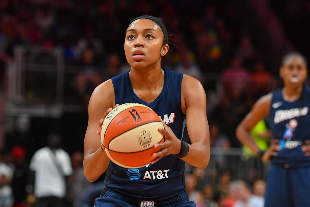 WNBA: JULY 23 Los Angeles Sparks at Atlanta Dream