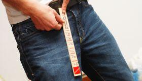 measurement of penis - Schwanzlänge