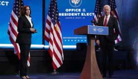 President-Elect Biden And VP-Elect Harris Deliver Remarks In Wilmington, DE