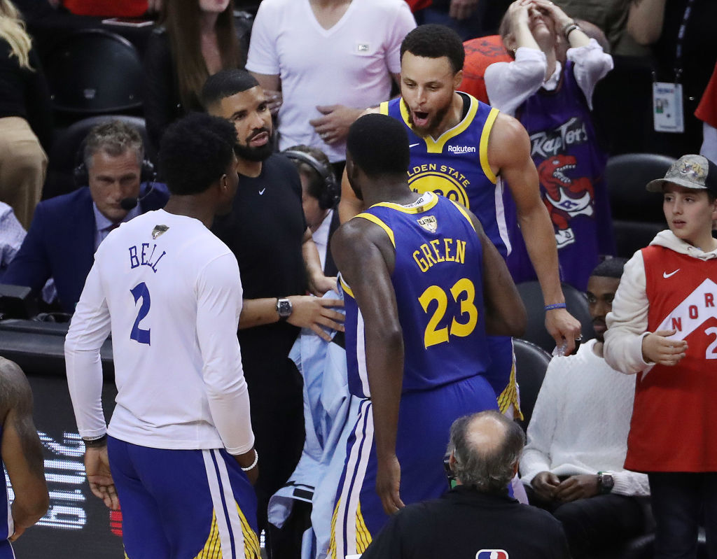 Toronto Raptors play the Golden State Warriors in game five of the NBA Finals
