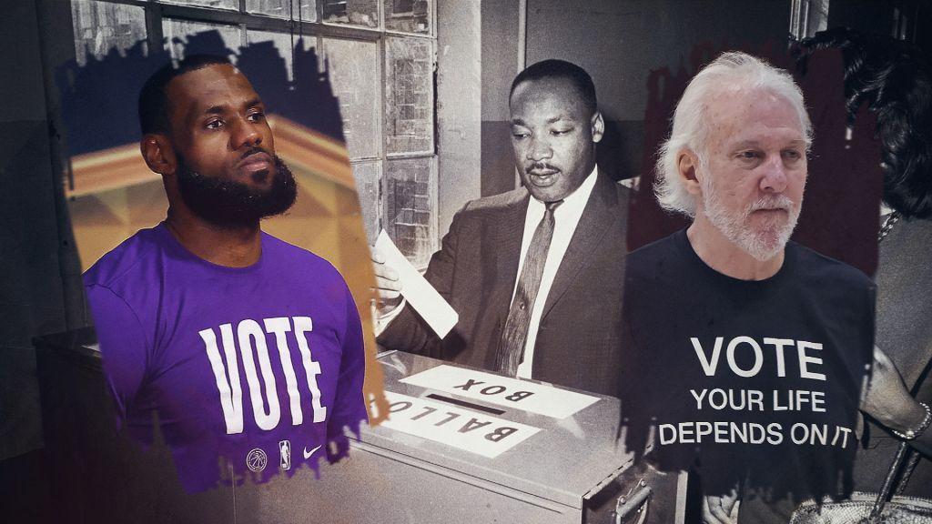 "NBA ""We Must Learn Stills"" MLK Day '21"