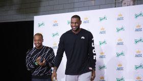 LeBron James And Sprite Unveil Refurbished Boys & Girls Club In Manhattan