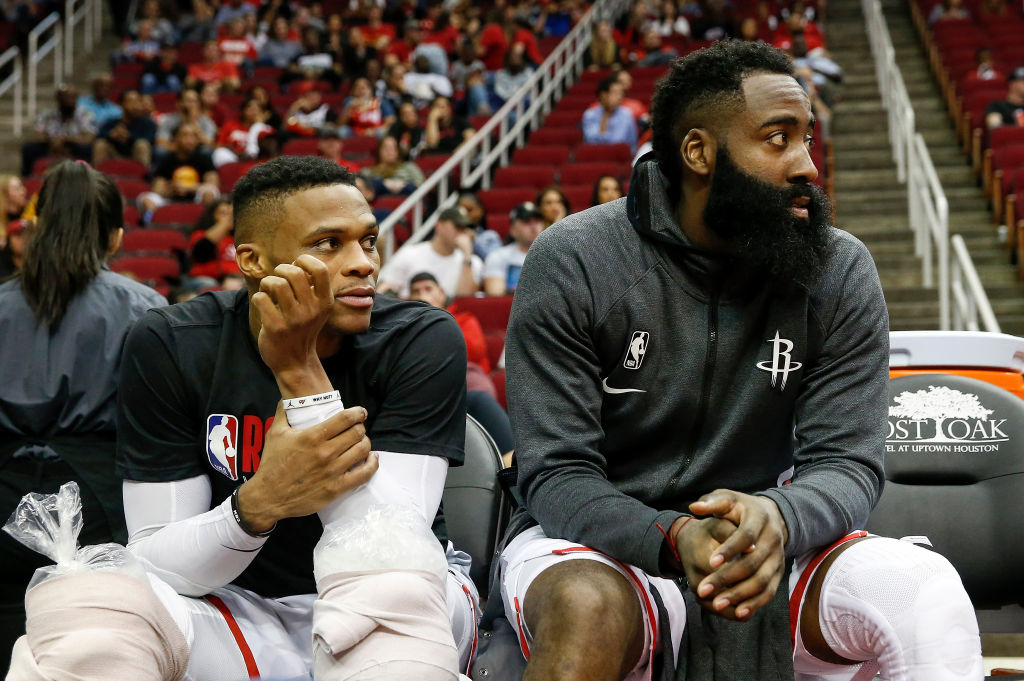 According To Kendrick Perkins, Russell Westbrook Wasn't A Big Fan of James Harden's Partying