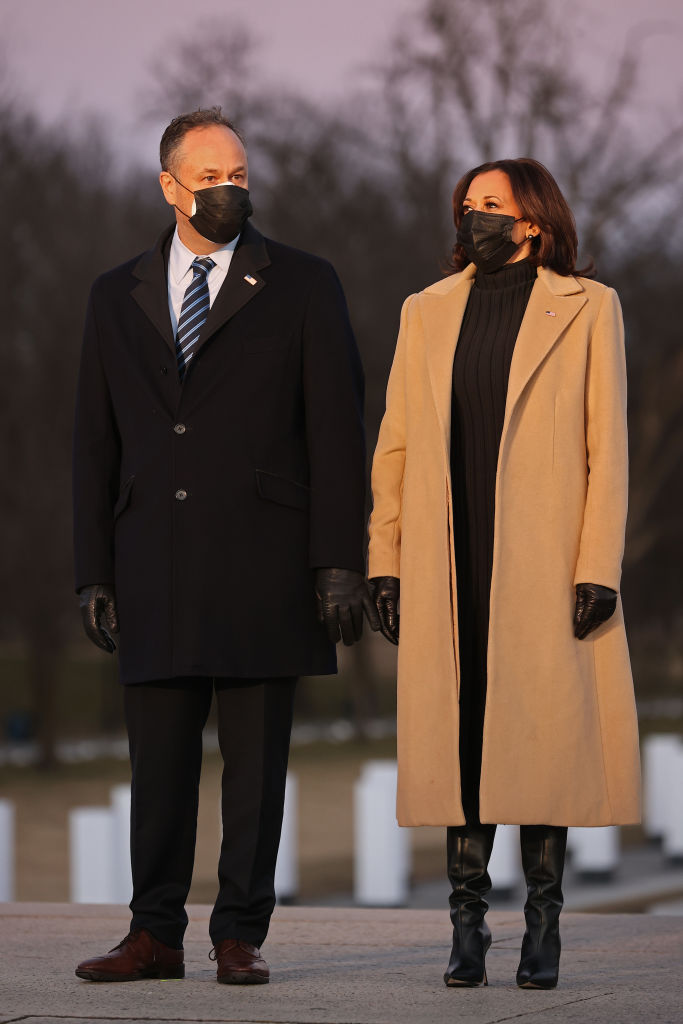 Vice President-Elect Kamala Harris wears Pyer Moss at COVID-19 memorial