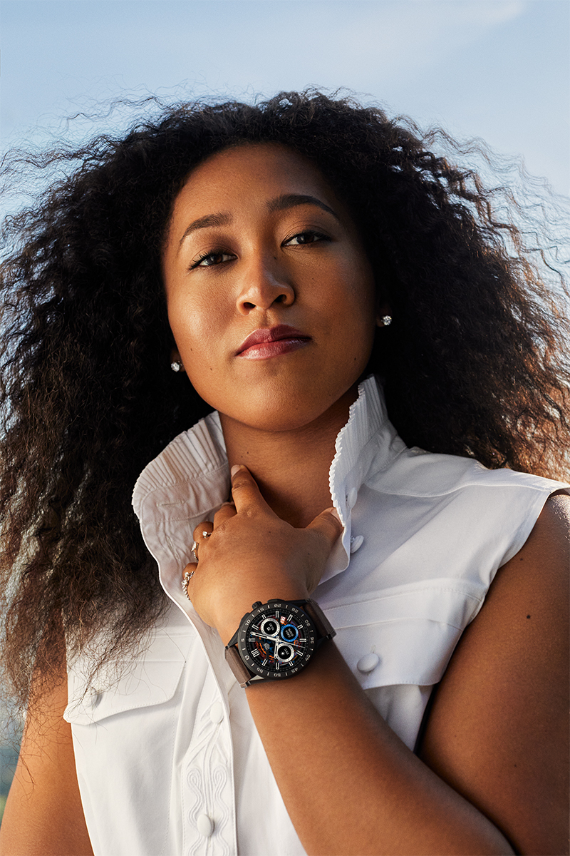 Naomi Osaka For Tag Heuer