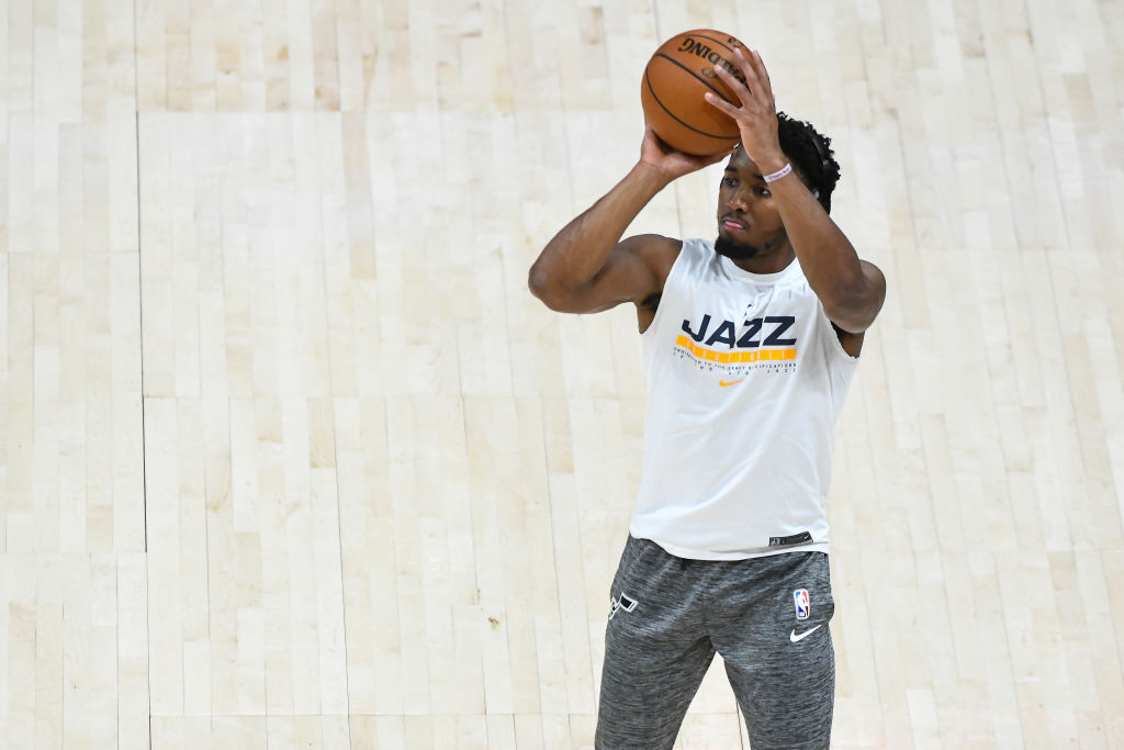 Donovan Mitchell Was Unbothered By Shaq's Weird Critique of His Skills