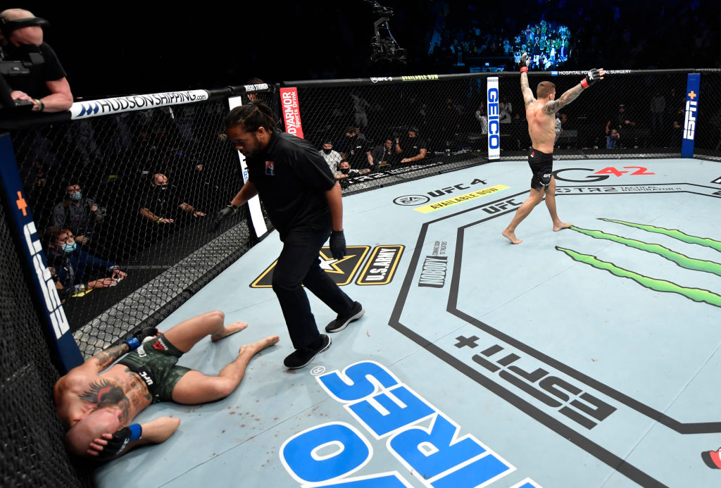 Conor McGregor Gets Knocked Out By Dustin Poirier In UFC Return