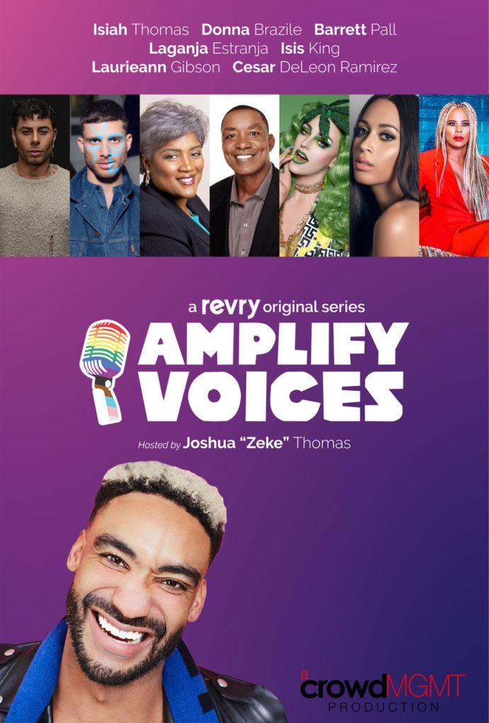 Joshua 'Zeke' Thomas For AMPLIFY VOICES series