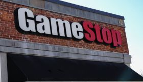 Game Stop, logo in Queens borough...