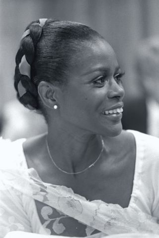 Actress Cicely Tyson Smiling