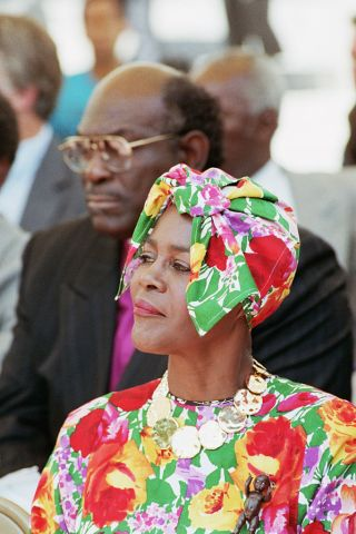 Cicely Tyson at a Nelson Mandela Benefit