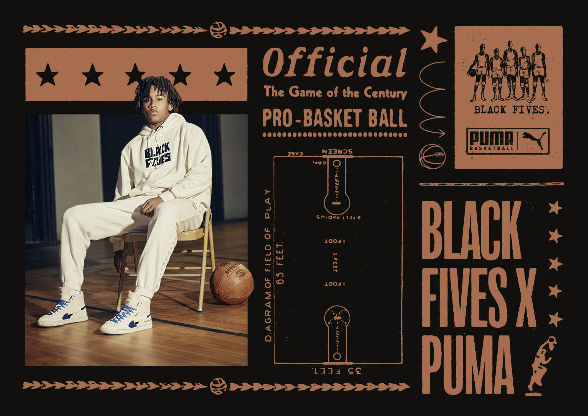 PUMA Announces Multi-Year Partnership With The Black Fives Foundation